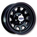 CRAGAR 342 Series Black D Window 15x10