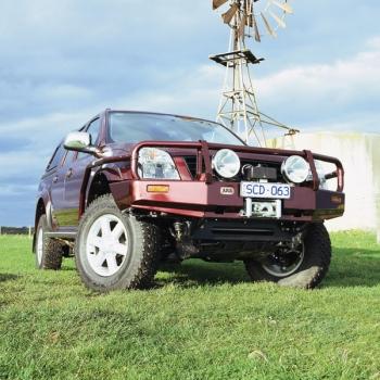 Deluxe rauast stange D-Max 2003-2007