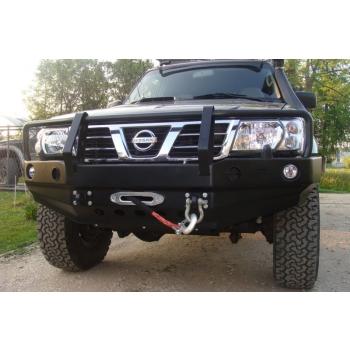 Nissan Patrol GR Y61 ...-2004 esistange raudadega